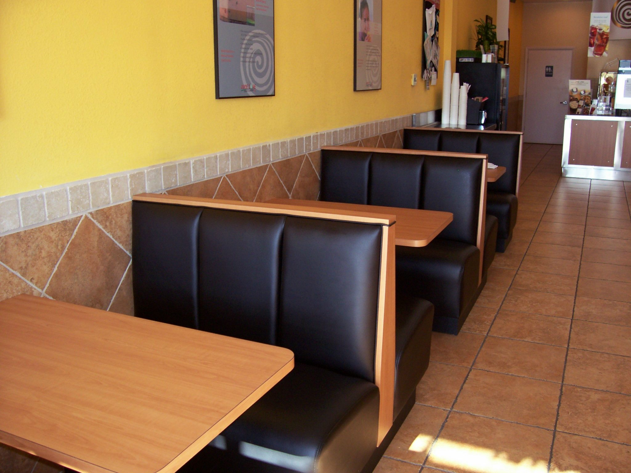 Single Restaurant Booths Single Booth Seating Mega Seating