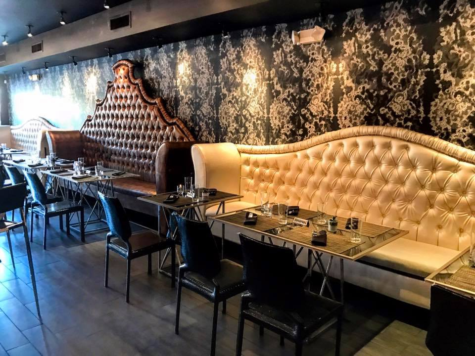 banquette restaurant booths restaurant wall benches