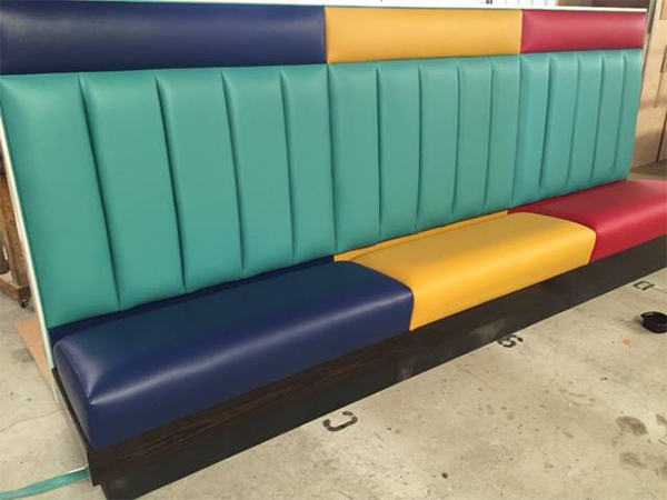 banquette wall bench